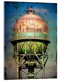Acrylic glass  water tower - Dieter Ziegenfeuter