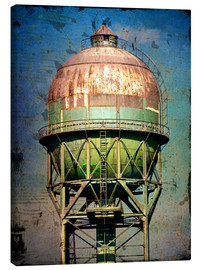 Canvas  water tower - Dieter Ziegenfeuter