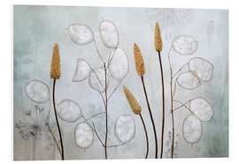 Foam board print  Lunaria - Mandy Disher
