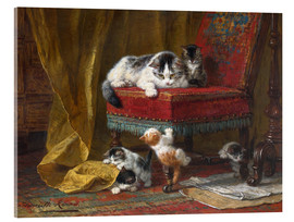 Acrylic glass  Mother's Pride - Henriette Ronner-Knip