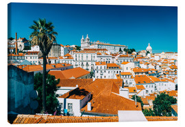 Canvas  Panoramic View Of Lisbon Skyline - Radu Bercan