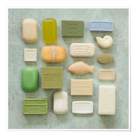 Premium poster  Soap Collection - Andrea Haase Foto