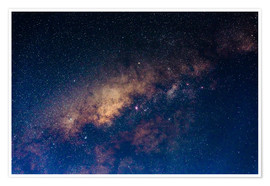 Premium poster  The core of the Milky Way - Fabio Lamanna