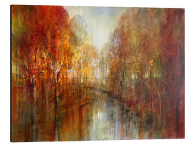 Aluminium print  and the forests will echo with laughter - Annette Schmucker