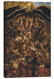 Canvas print  The last judgment (detail) - Jan van Eyck