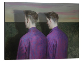 Aluminium print  Two Guy - Xue Ruozhe