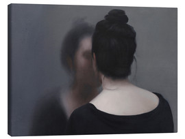 Canvas print  The reflection - Xue Ruozhe