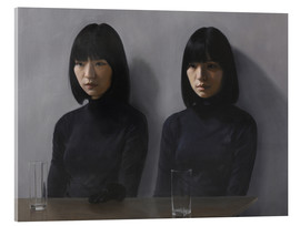 Acrylic print  Two glasses, please - Xue Ruozhe