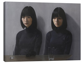 Canvas  Two glasses, please - Xue Ruozhe