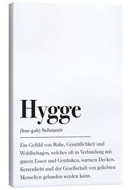 Canvas  Hygge Definition German - Johanna von Pulse of Art