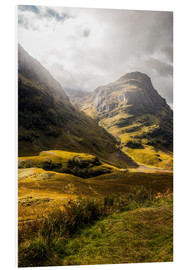 Foam board print  Glencoe Valley Scotland - Sören Bartosch