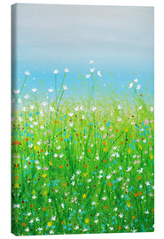 Canvas print  DELICATE FLOWERS - Herb Dickinson