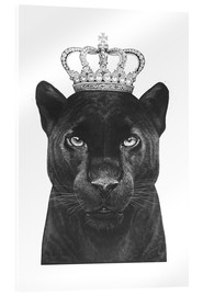 Acrylic print  The King panthers - Valeriya Korenkova