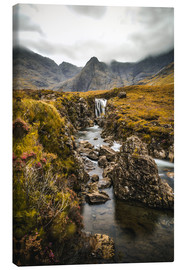 Canvas print  Fairy Pools, Isle of Skye - Sören Bartosch