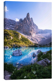 Canvas  Mountain Lake, Dolomites - Matthias Köstler