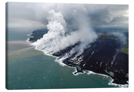 Canvas print  Hawaii lava flow 1 - Bjoern Alicke