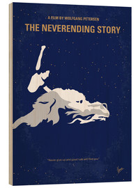 Wood print  The Neverending Story - chungkong