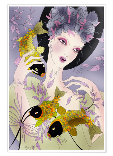 Poster Zodiac sign Pisces