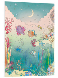 Foam board print  Under the sea - Ella Tjader