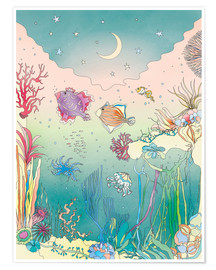 Premium poster  Under the sea - Ella Tjader