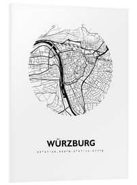 Forex  City map of Würzburg - 44spaces