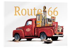 Acrylic print  Route 66 Relics - Georg Huber
