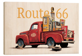 Wood  Route 66 Relics - Georg Huber