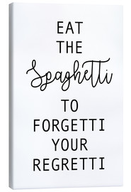 Canvas print  Eat the spaghetti - Ohkimiko