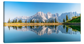 Canvas print  Kaiser Mountains in Tyrol - Achim Thomae
