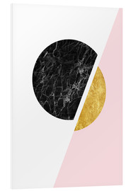 Forex  Scandinavian composition with marble and gold - Radu Bercan