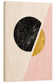 Radu Bercan - Scandinavian composition with marble and gold