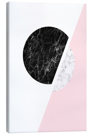 Canvas  Scandinavian composition with marble - Radu Bercan
