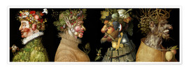 Giuseppe Arcimboldo - The four Seasons