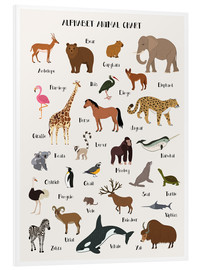 Foam board print  Learn the ABC - English - Kidz Collection