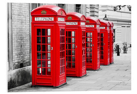 Foam board print  London telephone box - Art Couture