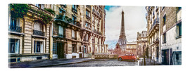 Acrylic glass  Parisian charm - Art Couture