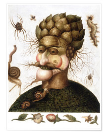Premium poster  The Allegory of Earth - Giuseppe Arcimboldo