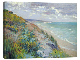 Gustave Caillebotte - Cliffs by the sea at Trouville