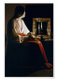 Poster The Penitent Magdalen