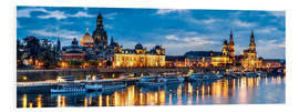 Forex  Dresden at night - Art Couture