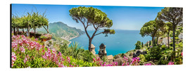 Alu-Dibond  Picturesque coast at Amalfi - Art Couture