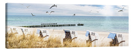 Canvas print  Beach day at the Baltic Sea - Art Couture