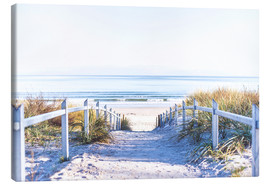 Canvas print  Dunes way, Sylt - Art Couture