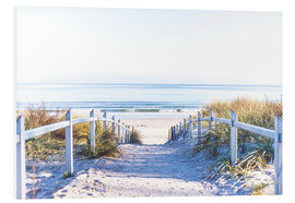 Foam board print  Dunes way, Sylt - Art Couture