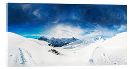 Acrylic glass  Grindelwald in winter - Peter Wey