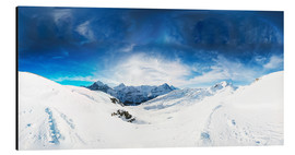Aluminium print  Grindelwald in winter - Peter Wey
