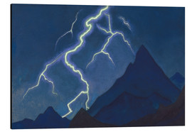 Nicholas Roerich - Call of the sky, lightnings