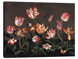 Canvas print  Still life with tulips - Johannes Bosschaert