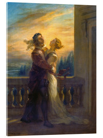 Eugene Delacroix - Romeo and Juliet