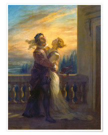 Premium poster Romeo and Juliet